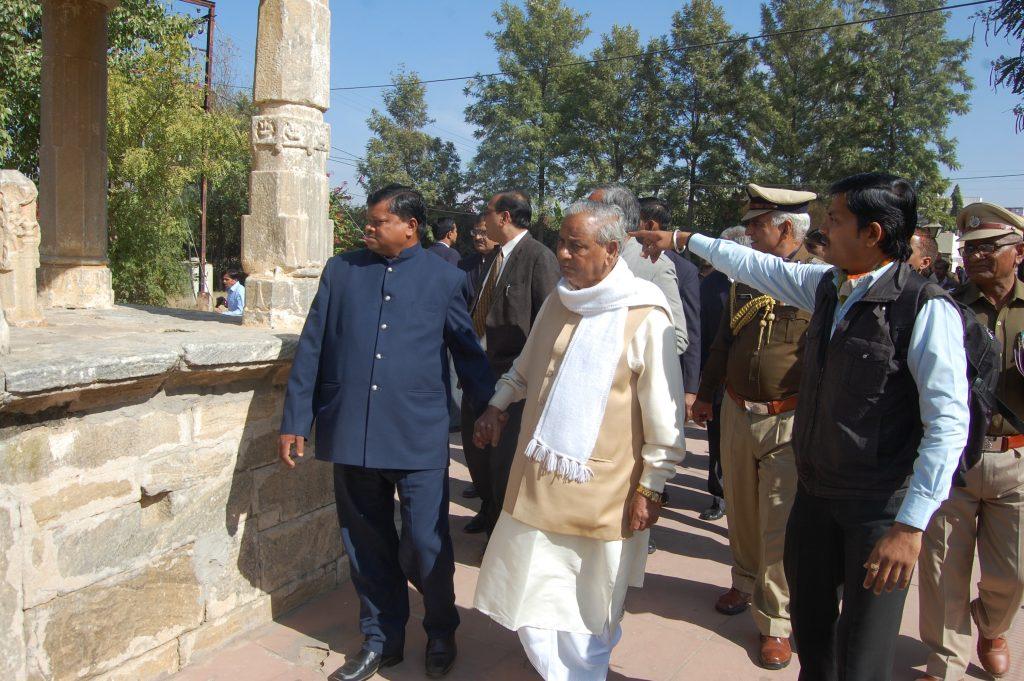 हल्दीघाटी मुख्य रणक्षेत्र रक्त तलाई ~ राज्यपाल महोदय की यात्रा